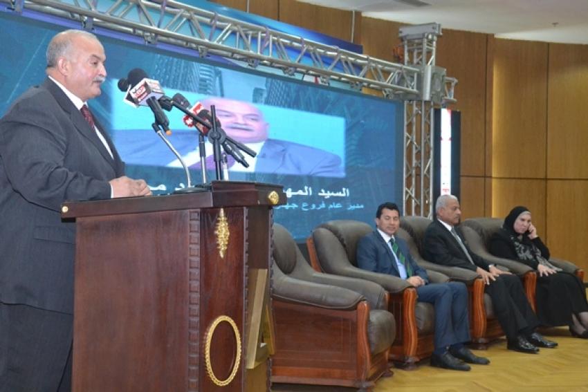 المهندس محمود محرز  .. جمعيتين  فقط حصلتا على تمويل من ادارة الاموال فى محافظة السويس
