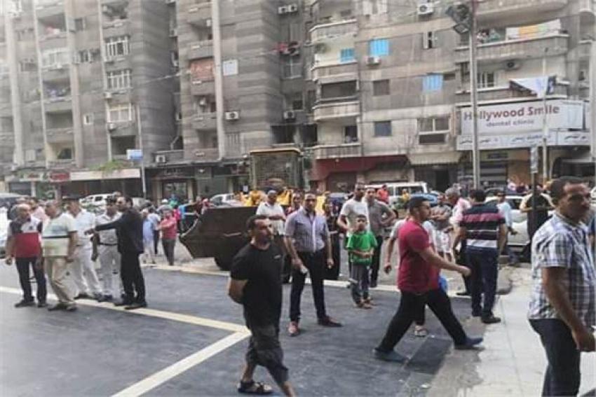 غلق مطعم شهير استجابة لاستغاثة سيدة مسنة بالإسكندرية