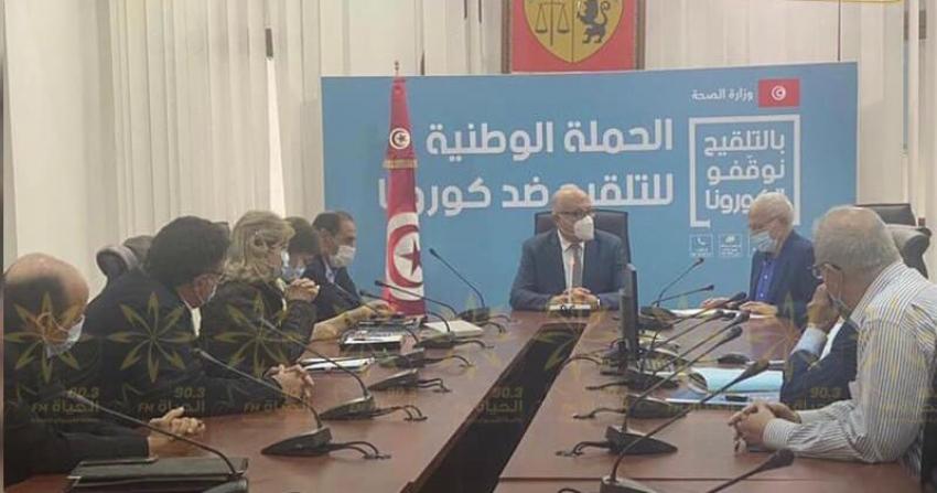 اقرار الحجر الصحي الكامل ومنع التنقل بين المدن أيام العيد بتونس