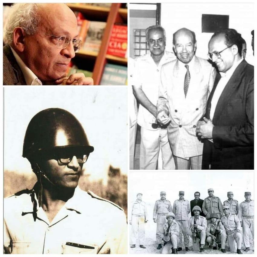 اليوم ذكري رحيل  الكاتب الكبير جمال الغيطاني   المراسل الحربي في حرب أكتوبر 73