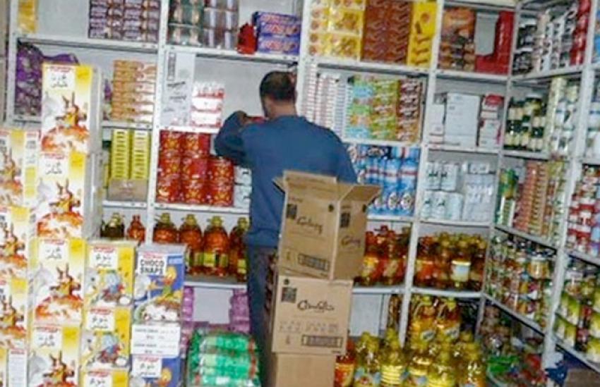 ضبط 83 مخالفة تموينية فى حملة على الأسواق والمحلات بمراكز الغربية