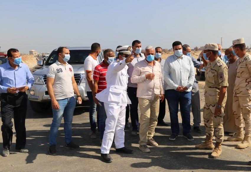 اللواء عبد المجيد صقر :طرق جديدة لخدمة المدن السكنية بحي عتاقة وفيصل وربطها بطريق السويس القاهرة