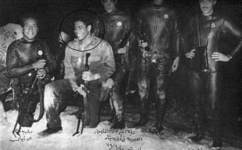 الفدائي محمد عبدة موسي من ابطال قوات الصاعقة و المجموعة 39  بحرب الاستنزاف و نصر اكتوبر 73