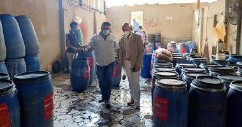 وفاه أب وأبنائه الثلاثه صعقا داخل مصنع مخلل في بني سويف