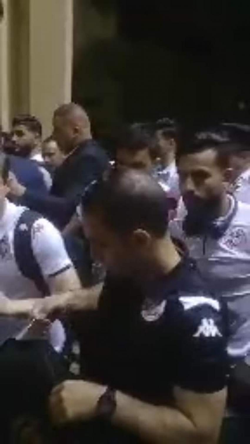 ع السمسمية السويس تستقبل بعثة المنتخب التونسي اخر فرق المجموعة الخامسة وصولا
