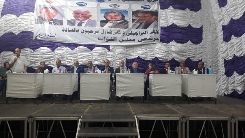 مؤتمر شعبى بحى الاربعين بالسويس لدعم مرشحى التحالف الوطنى