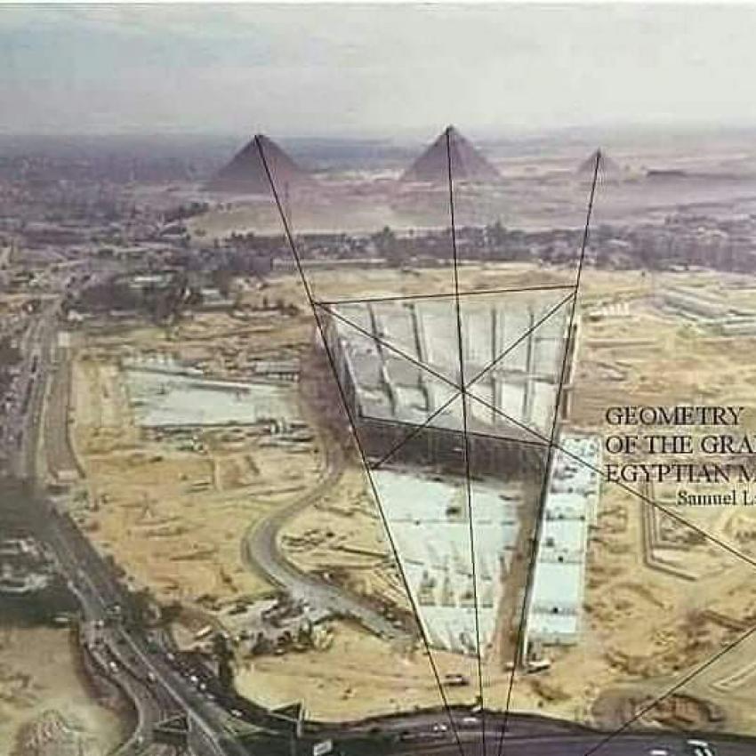عبقرية تصميم المتحف المصري الكبير