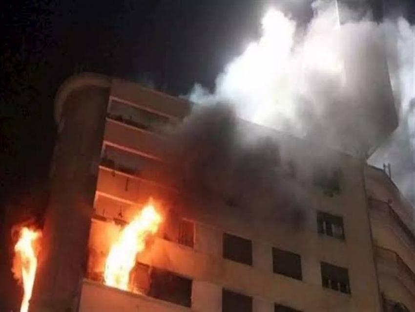 مصرع 3 أطفال في حريق بشقة سكنية  بسبب «دفاية»