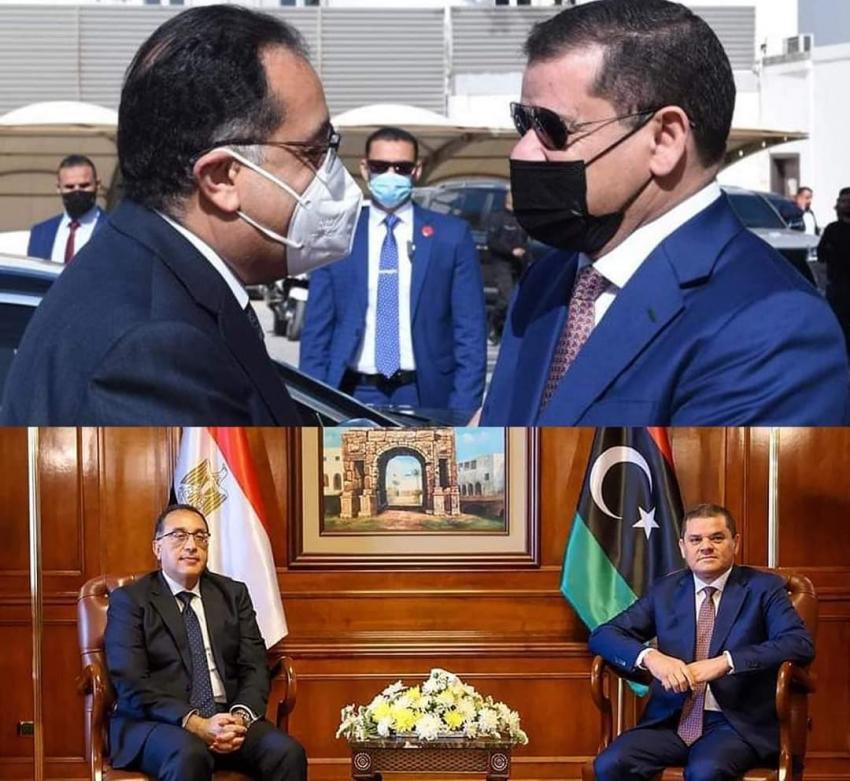 زيارة تاريخية  تسفر عن 11 اتفاقا بين مصر وليبيا