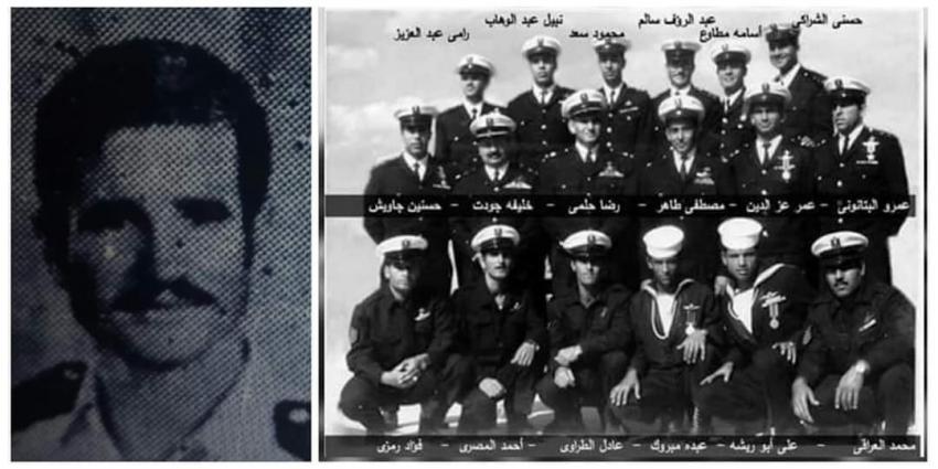 اليوم ذكري رحيل   مقدم بحري عبد الرؤوف محمد سالم   أحد الجنود المجهولين في عمليات الهجوم علي ميناء ايلات