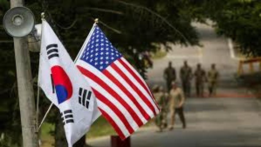 الغاء المناورة العسكرية المشتركة  بين امريكا و كوريا الجنوبية