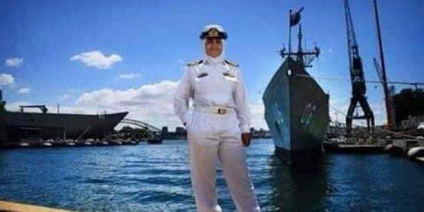 """""""منى شندي"""" مصرية المولد ، تتولى منصب رئيسه أركان القوات البحريه الاستراليه"""