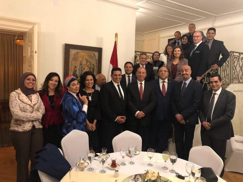 محافظ البحر الاحمر فى صربيا  لتوقيع اتفاقية توءمة بين مدينتي مرسى علم و ياجودينا