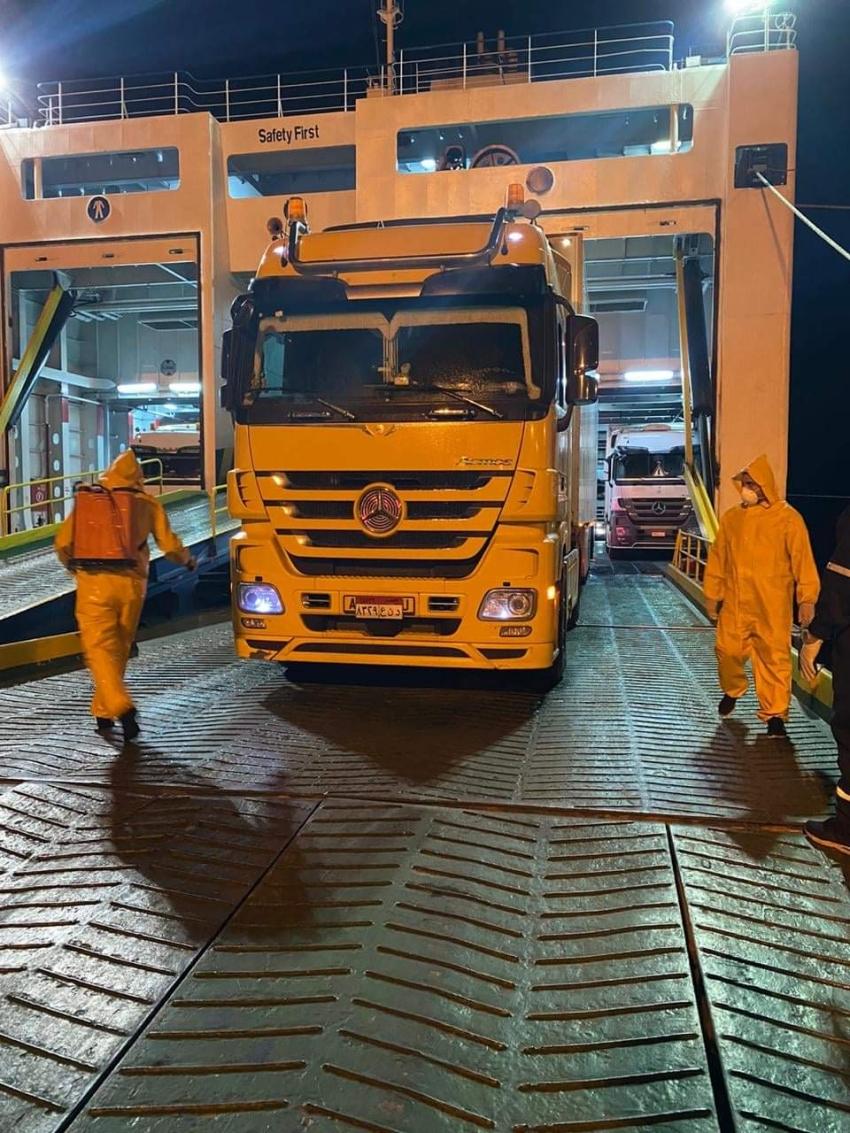 تداول7 آلاف طن بضائع عامة ومتنوعة بموانئ البحر الأحمر