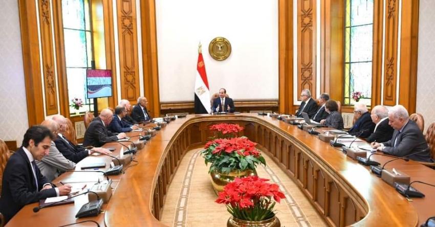 الرئيس إجتمع اليوم مع المجلس الاستشاري لكبار علماء وخبراء مصر.