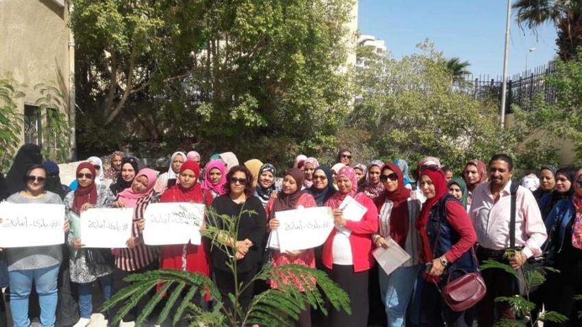 """صور..قومي المرأة بالسويس يبدأ فعاليات المرحلة الثانية من حملة طرق الأبواب تحت شعار """"بلدي أمانة"""""""