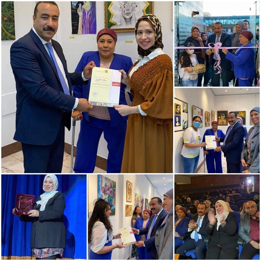 ابداعات شبابية بثقافة بورسعيد في  إطار فعاليات بورسعيد عاصمة الثقافة المصرية لعام 2021