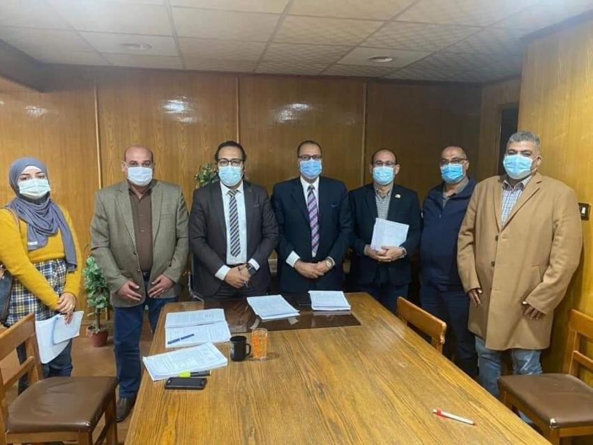 انعقاد الاجتماع الاول لمجلس امناء مستشفى السويس العام