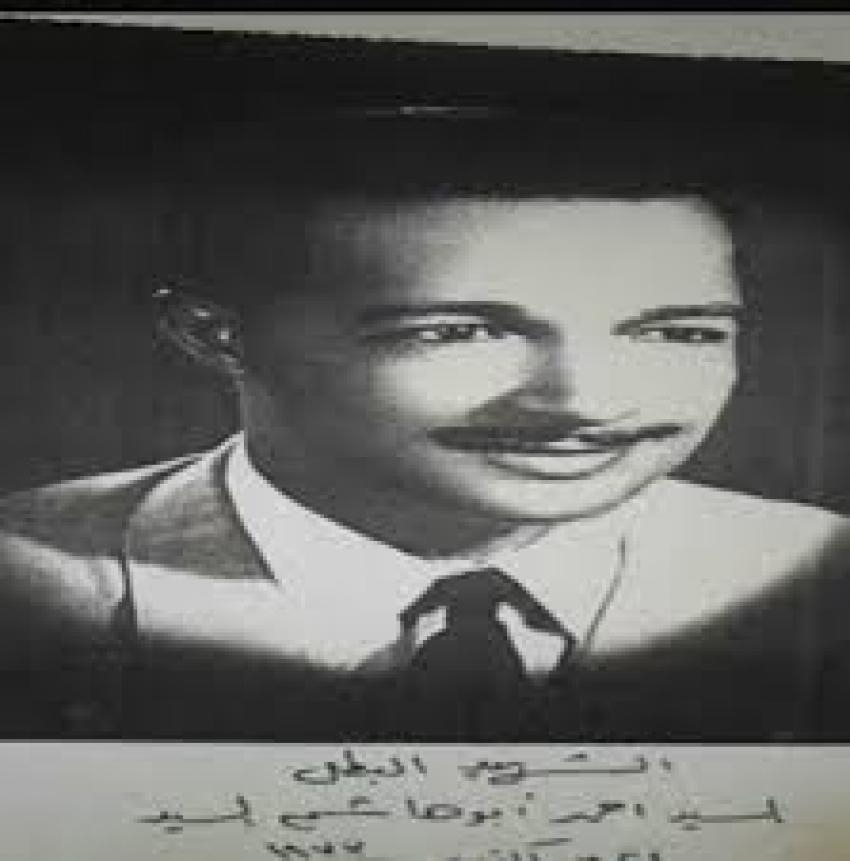 االشهيد احمد ابو هاشم قائد كمين مزلقان البراجيلي