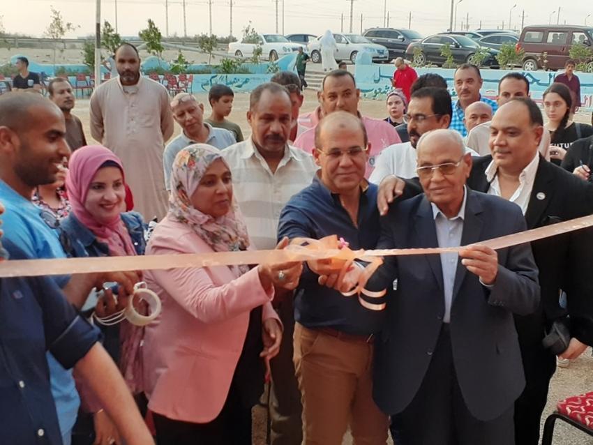 إفتتاح معرض مستقبل وطن للأدوات المدرسية فى نسخته الثانيه بقرية عامر بالسويس