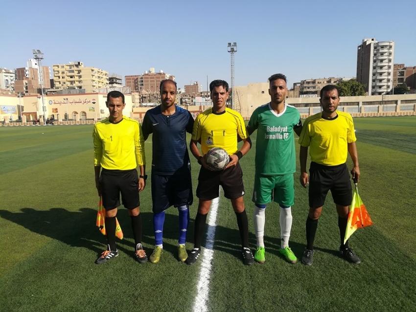 بالصور.. غزل السويس يهزم بلدية الإسماعيليه بثلاثيه .. و يصل للنقطه 13
