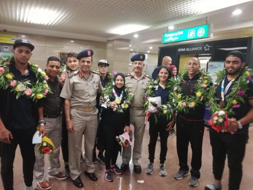 العسكرية الرياضية بالسويس تحقق ثلاثة ميداليات فى أولمبياد الارجنتين للشباب