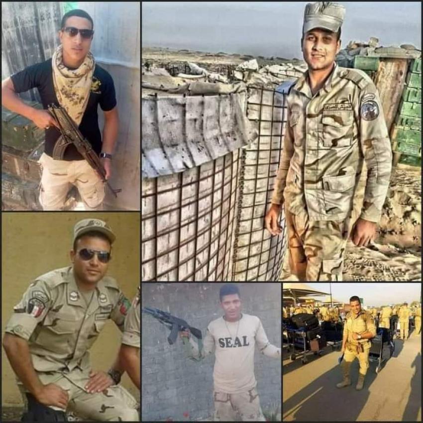 بيان القياده العامة للقوات المسلحة : استشهاد 8 من ابطال الجيش و مقتل عدد ( 89 ) فرد تكفيرى  بمناطق العمليات بشمال سيناء .