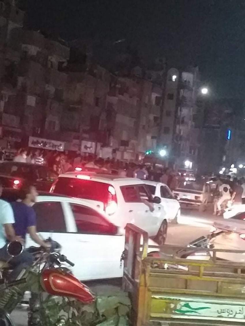 اصابة فتاة اثر اصطدام بسيارة ملاكي مسرعة بشارع الجيش بالسويس ونقلها للمستشفى بحالة خطرة