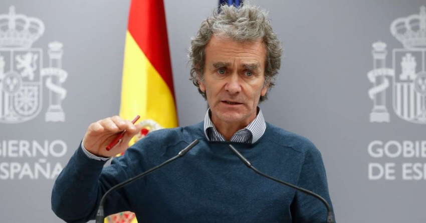 إصابة رئيس الطوارئ الصحية فى إسبانيا المسئول عن مواجهة كورونا بالفيروس