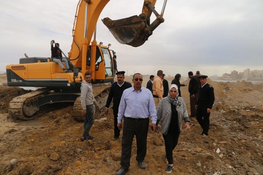محافظة السويس تسترد 250 فدان تعدي علي أملاك الدولة بمنطقة اللاجون