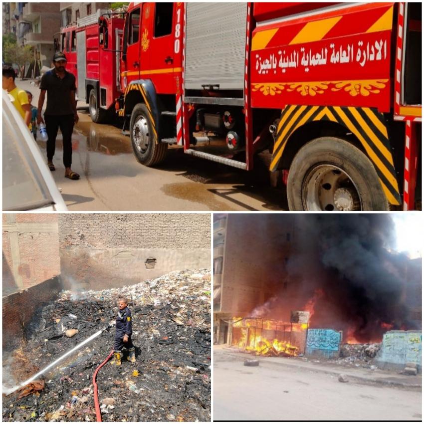 الحماية المدنية تنجح في إخماد حريق ضخم بالمنيب