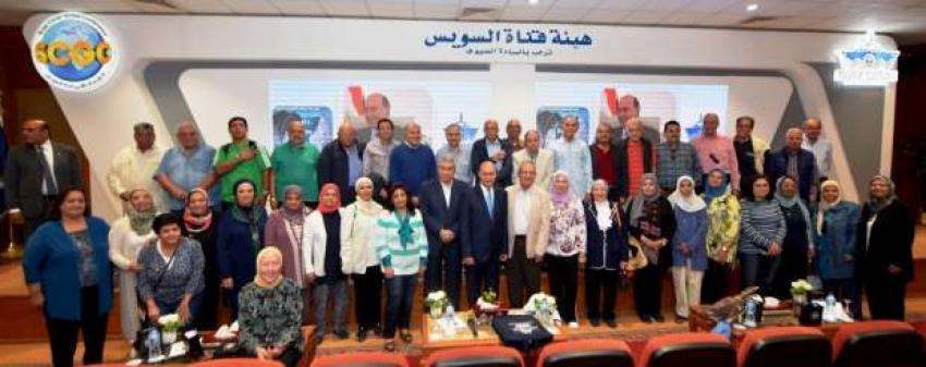 مميش يستقبل رواد كلية الهندسة جامعة القاهرة برئاسة وزير التعليم العالى