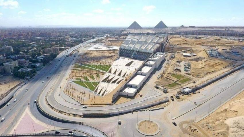المتحف المصري الكبير.. أكبر متحف للآثار المصرية فى العالم.