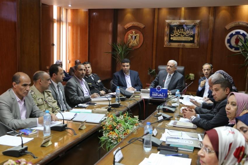 ننشر قرارات المجلس التنفيذي بمحافظة السويس اليوم