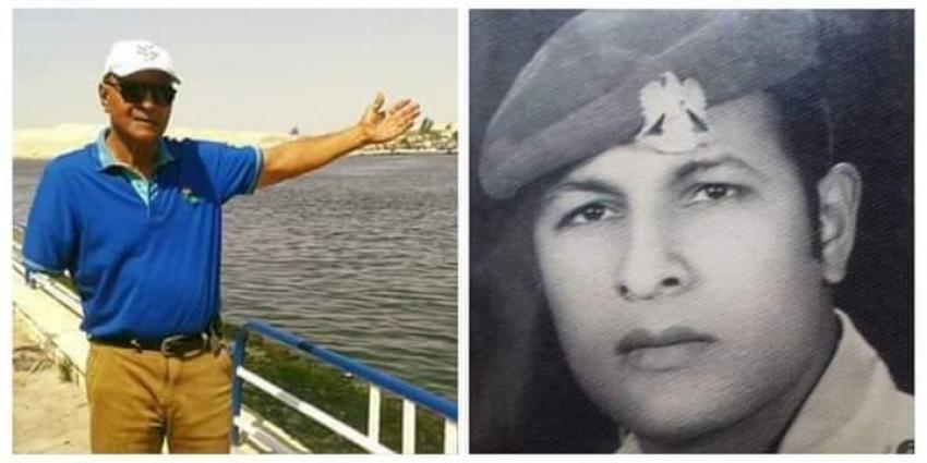 المقاتل اسماعيل بيومي من أبطال الجبهة بمدينة السويس