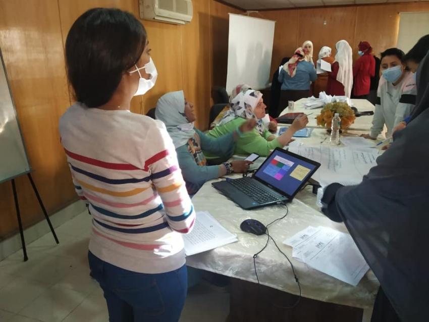 صحة السويس:  بدء فعاليات الدورة التدريبية    للصيادلة في تنمية المهارات الادارية والتطعيمات