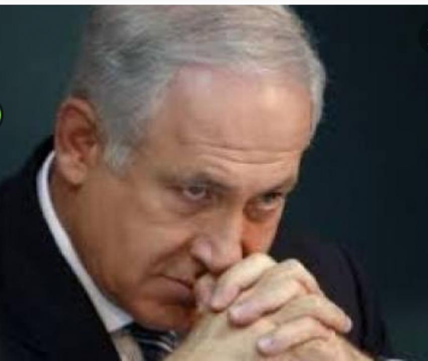 سقوط صاروخ على تل ابيب يقطع زيارة نتنياهو بامريكا