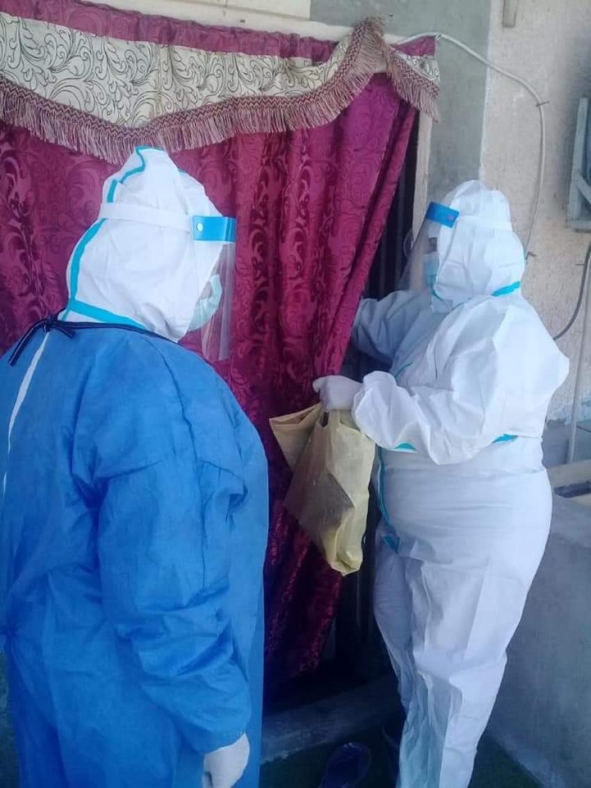 صحة السويس : متابعة الزيارات المنزلية لمرضي فيروس كورونا المستجد