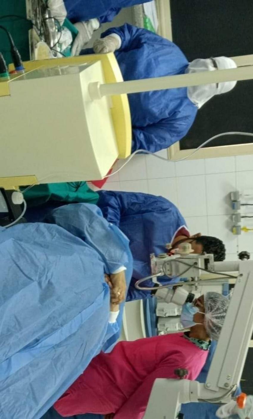 """صحة السويس: استئناف عمليات الرمد بالمستشفى العام وإجراء 6 عمليات بأحدث اجهزة عمليات المياه البيضاء """"الفاكو"""""""
