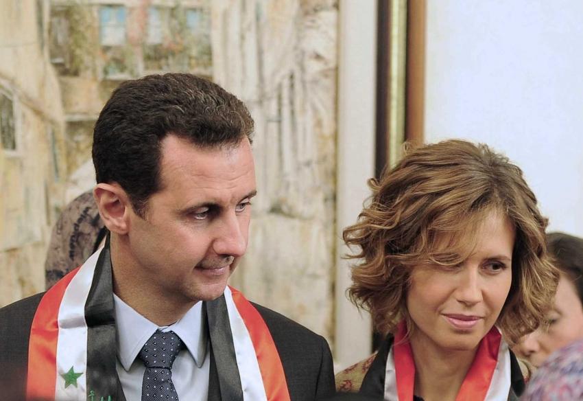 """إصابة الرئيس بشار الأسد وزوجته بفيروس """"كورونا"""""""