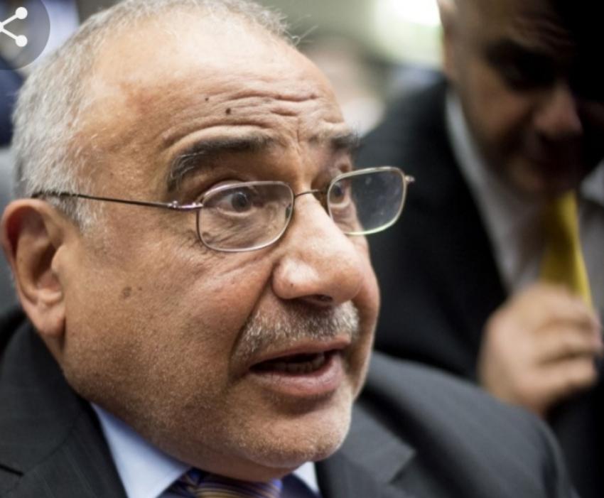 مجلس النواب العراقي يوافق على إستقالة رئيس الوزراء عادل عبد المهدي