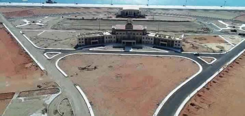 قاعدة (رأس بناس) البحرية التي سيفتتحها الرئيس عبدالفتاح السيسي