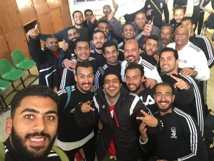 سماد السويس يتأهل لدورة الترقي بعد التعادل مع شباب أبو زنيمة بالقسم الرابع
