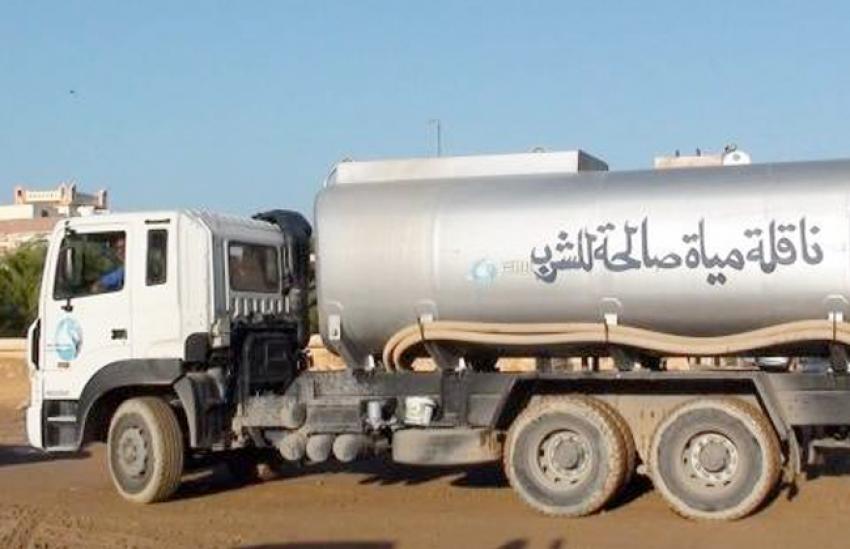 الاستعانة بسبع سيارات مياه شرب من محافظتي الجيزة والإسماعيلية لمدينة السلام بالسويس