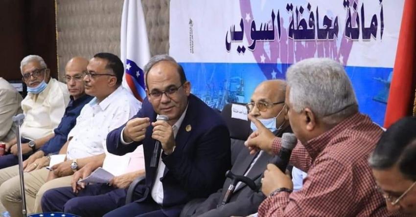 حزب مستقبل وطن امانه السويس ينظم الصالون السياسي الثاني بمقر الحزب بالسويس