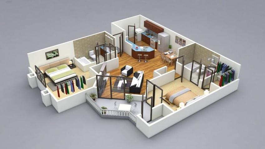 الذكاء الاصطناعى يستخدم فى تخمين حجم المنازل