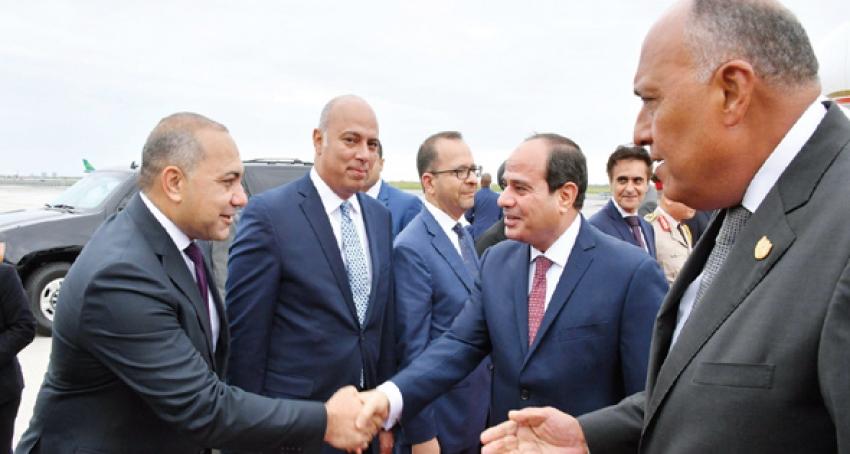 """نشاط مكثف للسيسى اليوم فى نيويورك"""" بسام راضى"""" لقاءات للرئيس مع أعضاء غرفة التجارة الأمريكية ورئيسى البنك الدولى والمجلس الأوروبى"""
