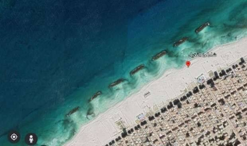 صورة على جوجل تكشف السر وراء زيادة أعداد ضحايا شاطئ النخيل ل12 غريق