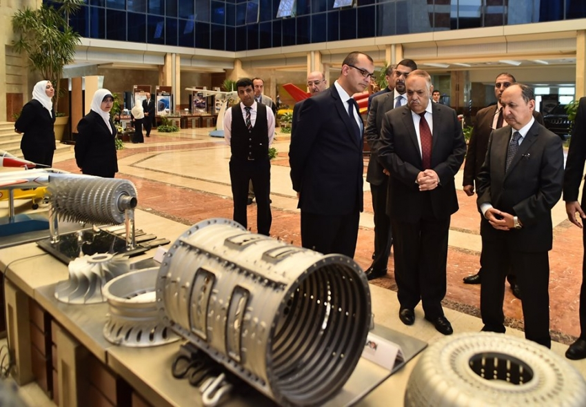 وزير التجارة والصناعة ورئيس العربية للتصنيع يبحثان تعزيز التعاون المشترك لتنفيذ خطة الدولة للتصنيع المحلى وزيادة الصادرات