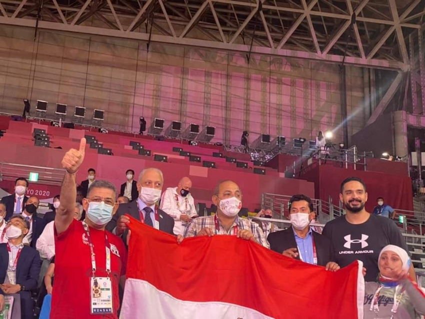 وزير الرياضة يهنيء هداية ملاك وسيف عيسي بالفوز ببرونزيتين التايكوندو بأولمبياد طوكيو
